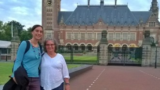 at the peace palace the hague