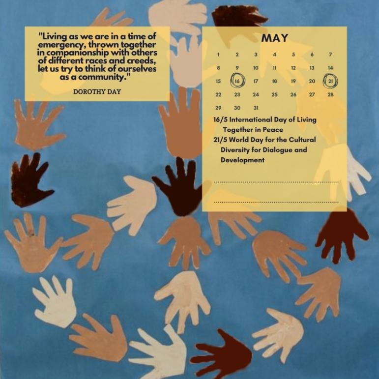 wall calendar may