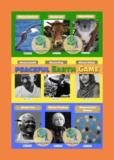 English Peaceful Earth Game Front